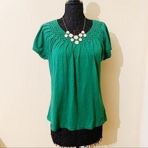 NWT Talbots Green T-Shirt (XL)